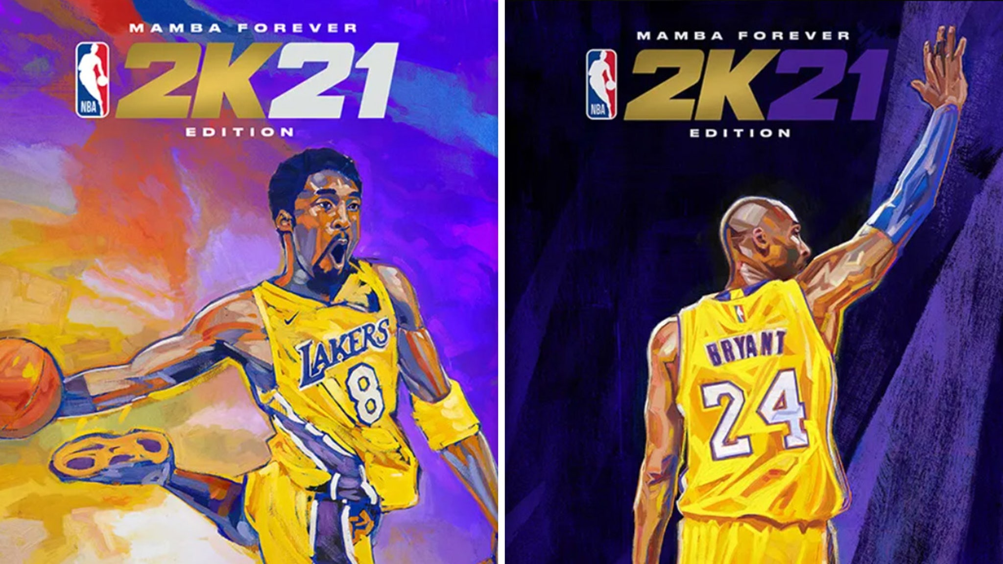 bryant honored as nba 2k21 cover athlete mamba