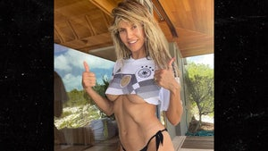 Heidi Klum Wishes Germany Good Luck W/ Sexy Snap Before Euro 2020