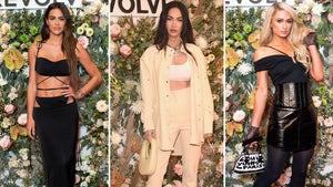 Amelia Hamlin, Megan Fox Among Stars Who Hit Up Revolve Gallery at NYFW