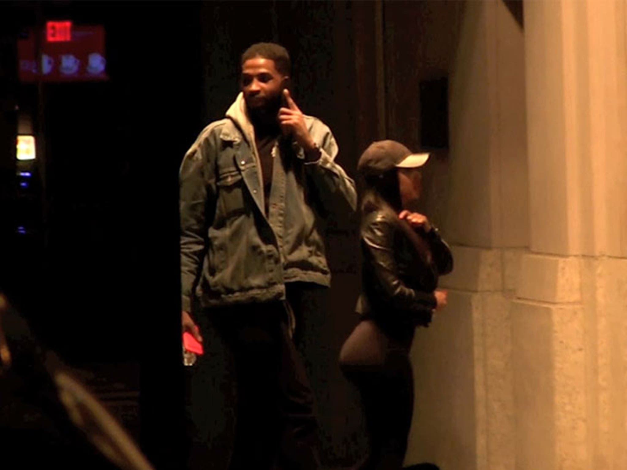 Tristan Thompson Went Back To Nyc Hotel With Woman From
