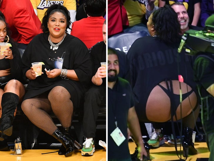 Lizzo Looks Good As Hell At Lakers Game