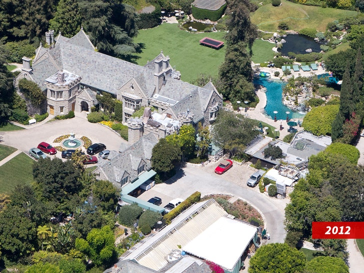 Playboy Mansion is Unrecognizable Amid Serious Construction