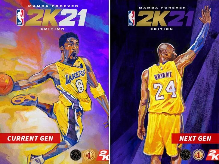 Kobe Bryant Honored As NBA 2K21 Cover Athlete, 'Mamba ...