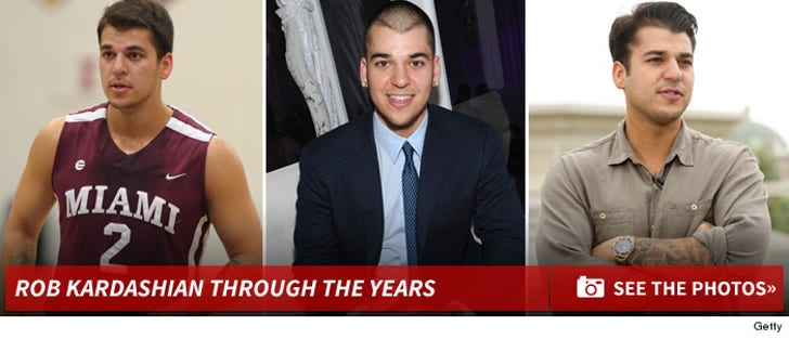 Rob Kardashian Through The Years