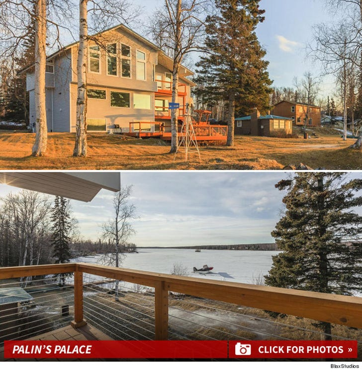 Bristol Palin's Alaska House -- For Sale
