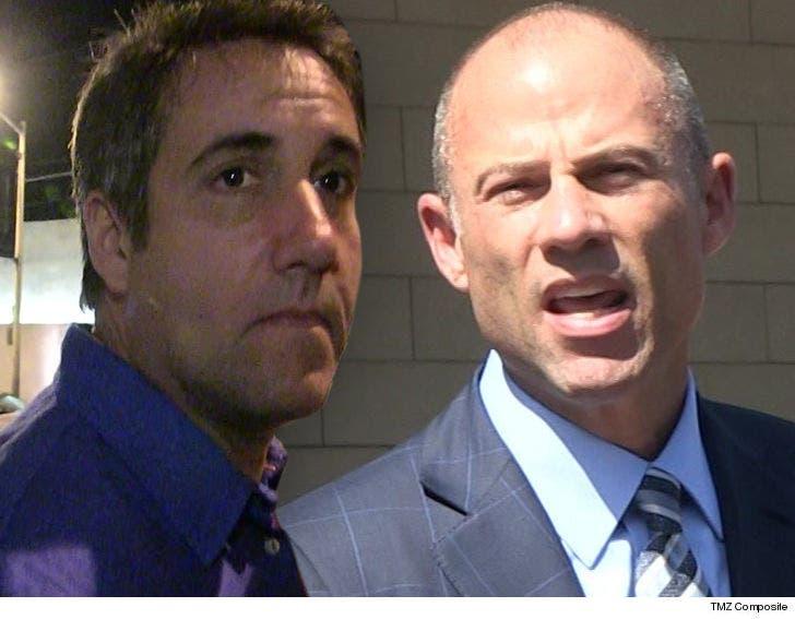 Michael Cohen Asks Judge to Muzzle Stormy Daniels' Lawyer