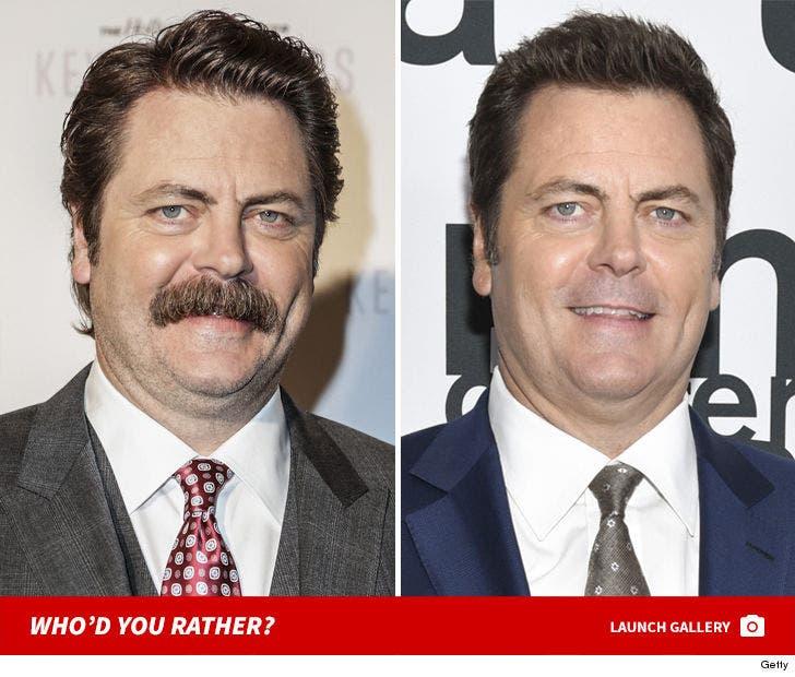 Moustache Men -- Who'd You Rather?!
