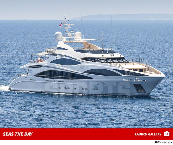Cristiano Ronaldo's Epic Yacht -- Seas The Day