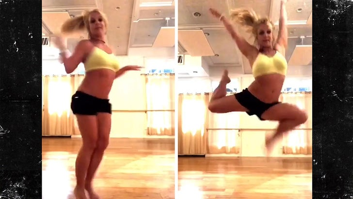 Britney Spears Shares Video of Dance That Broke Her Foot