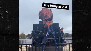 Chicago Blackhawks Statue Vandalized With Paint On Indigenous Peoples' Day