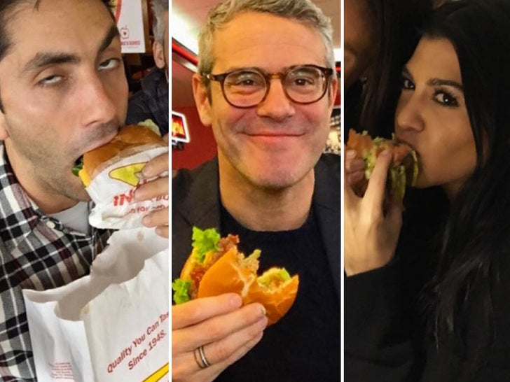 Stars with Burgers