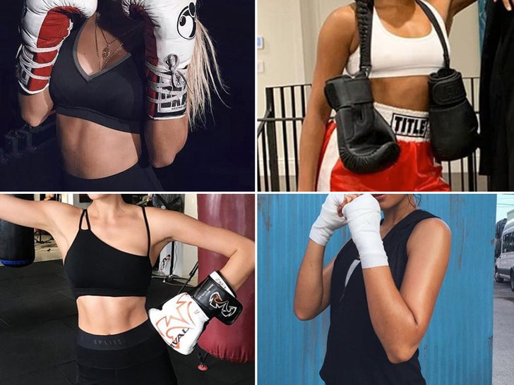 Boxing Babes -- Guess Who!