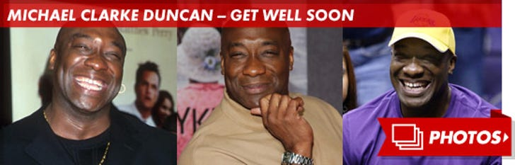 Michael Clarke Duncan -- Through the Years