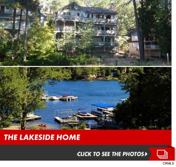 Tisha Campbell's Lake Arrowhead Home