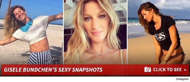 Gisele Bundchen -- Sexy Snapshots