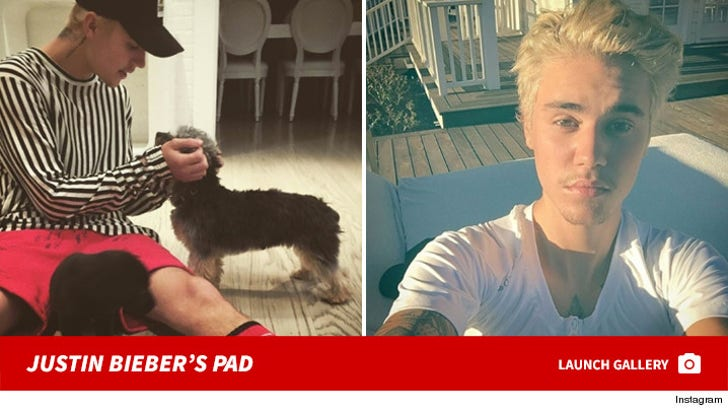 Justin Bieber -- New Home Snaps