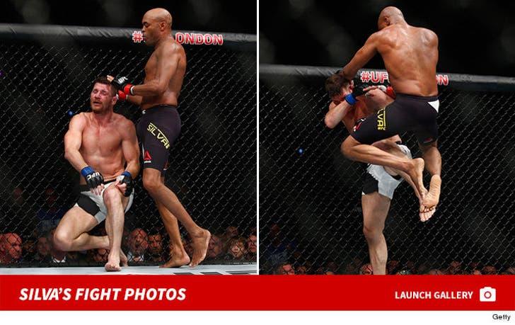 Anderson Silva's Fight Photos
