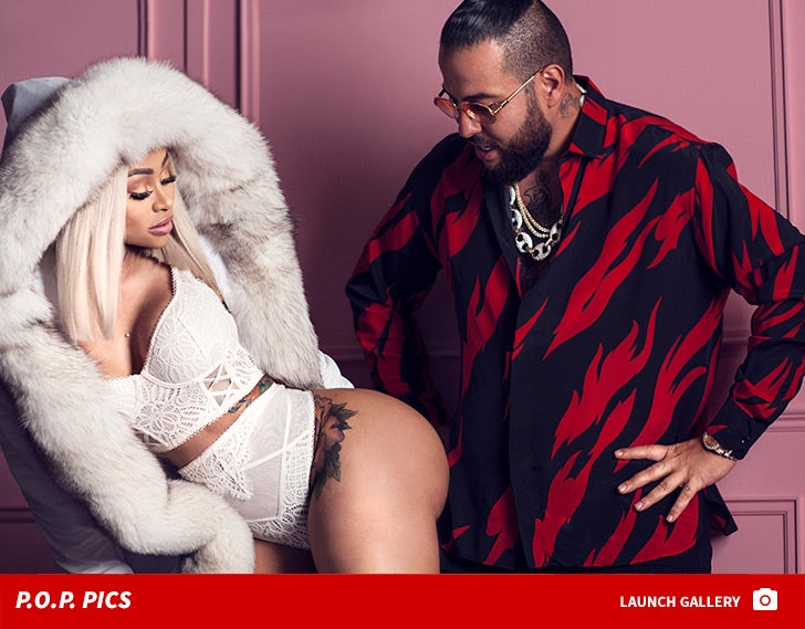 Blac Chyna and Belly -- P.O.P. Pics