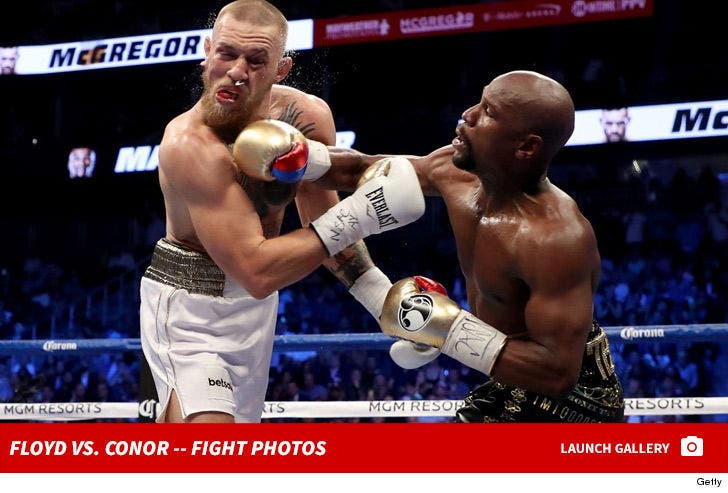 Mayweather vs. McGregor -- Fight Photos