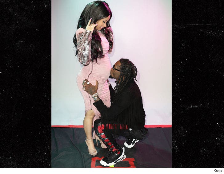 Cardi B And Offset Show Off Baby Bump At Billboard Latin