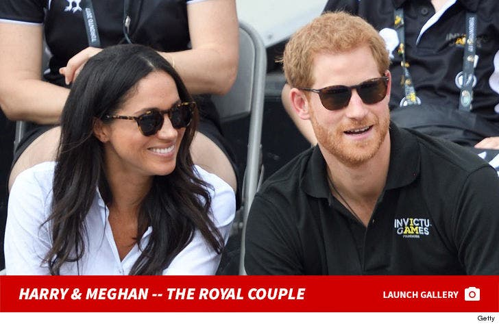 Prince Harry and Meghan Markle -- The Royal Couple