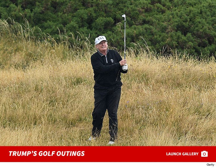 Donald Trump's Presidential Golf Outings
