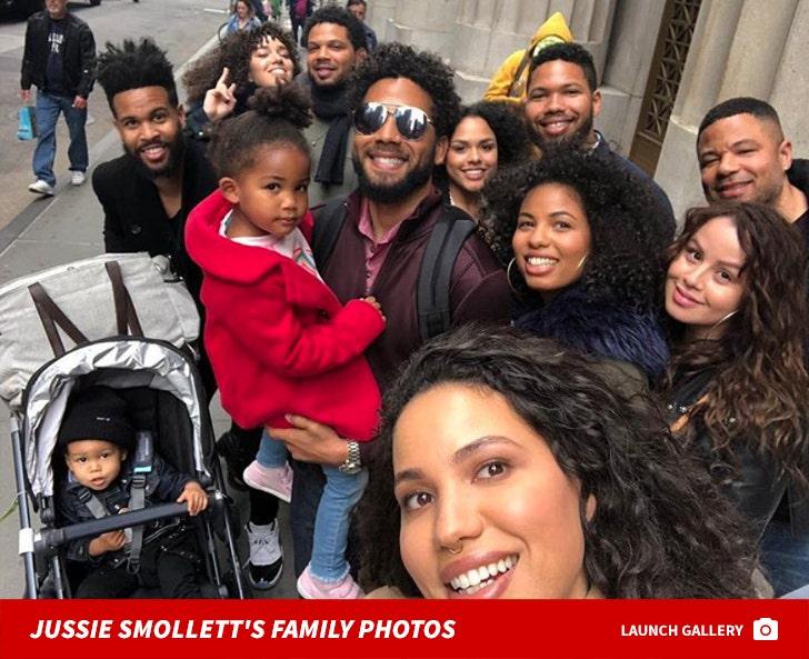Jussie Smollett's Family Photos