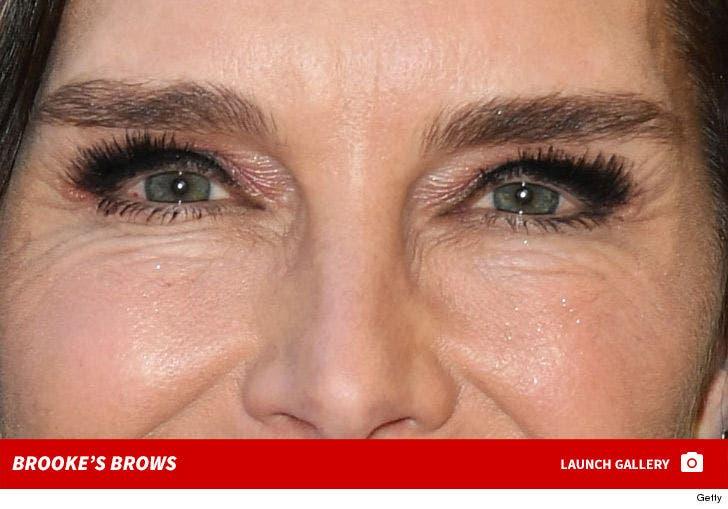 Brooke Shields' Brows