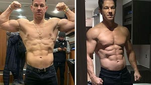 Mark Wahlberg's Shredded Shots