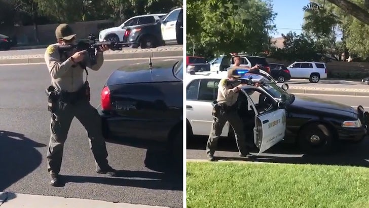 L.A. County Sheriffs Point Guns at Black Teens Who Were Under Attack