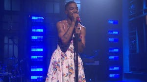 Kid Cudi Rocks Dress On 'SNL' For Kurt Cobain Tribute