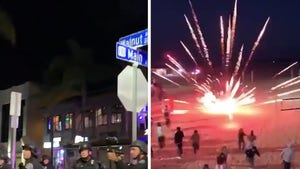 TikTok Party in Huntington Beach Broken Up By Cops with Tear Gas