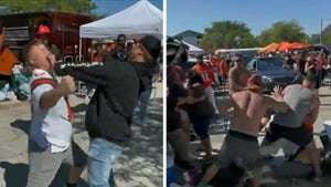 Browns Fans Throw Violent Punches In Wild Melee At Pregame Tailgate