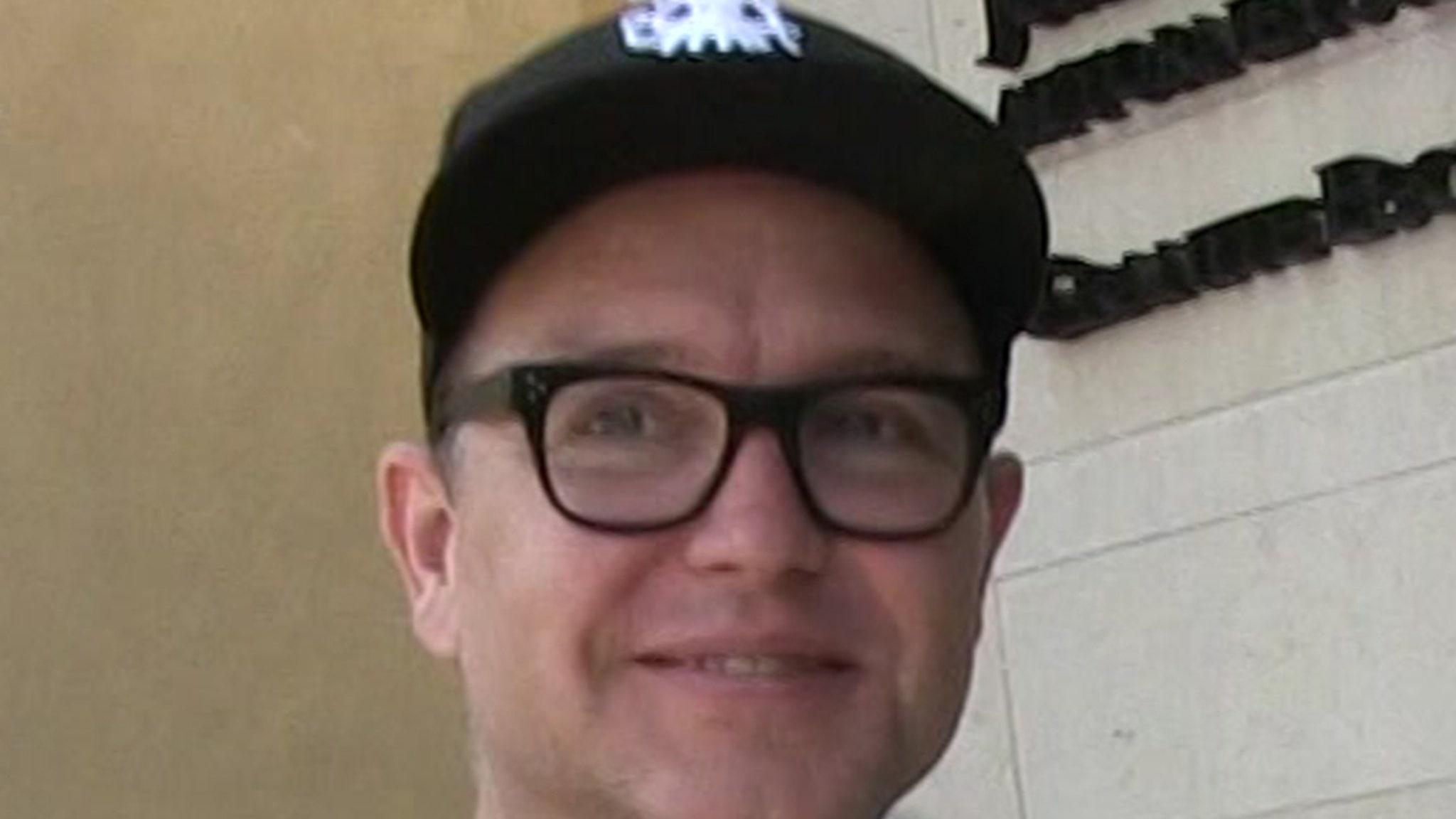 Blink-182's Mark Hoppus Says He's Cancer Free