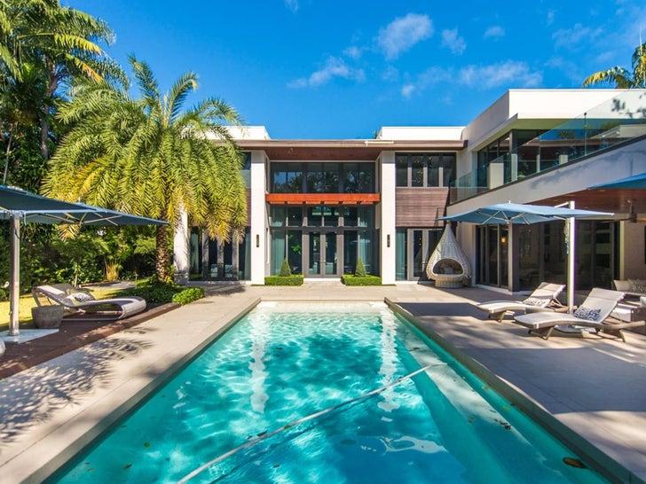 Ozuna house in Miami, Florida