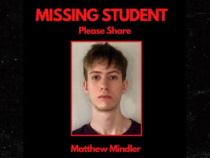 Matthew Mindler missing poster