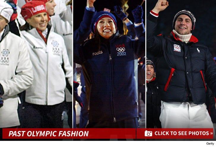 USA's Olympics Outfits -- The Fashion Photos