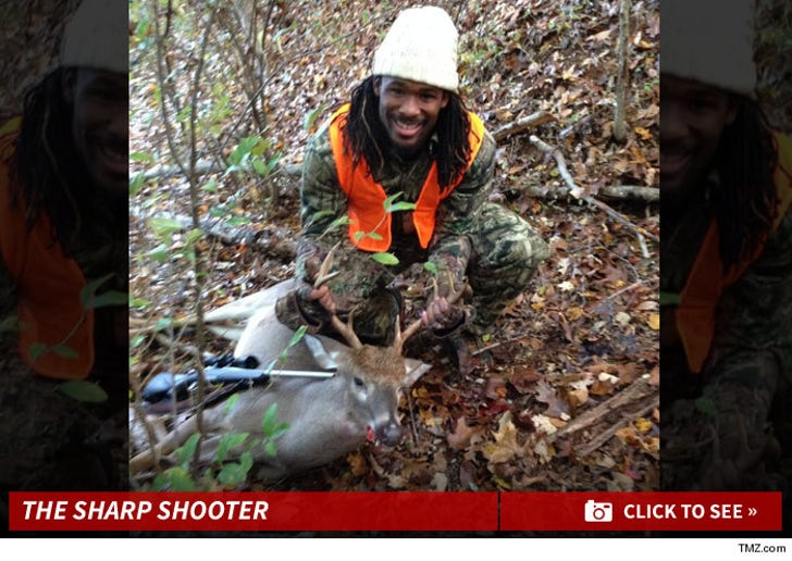 DeAngelo Williams' Hunting Photos