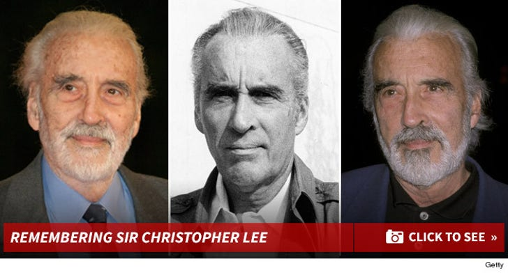 Remembering Sir Christopher Lee