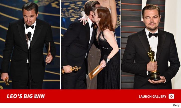 Leonardo Dicaprio's Big Win At Oscars
