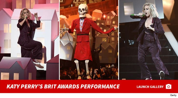 Katy Perry's BRIT Awards 2017 Performance