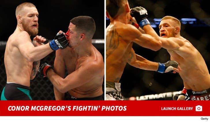 Conor McGregor's Fight Photos