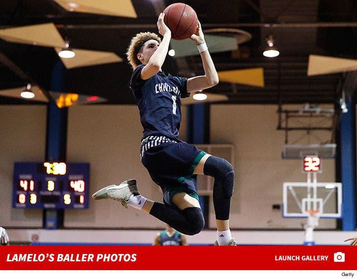 LaMelo Ball's Basketball Shots