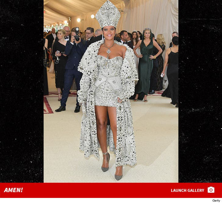 2018 Met Gala -- Fashion Photos