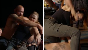 Ronda Rousey Pummels Real-Life Husband Travis Browne In '9-1-1' Fight Scene