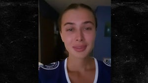 Lightning's Mikhail Sergachev's Smokin' Hot GF In Tears Over Cup Win, 'My Champion'