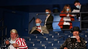 Kid Rock and John Daly Told to Wear Masks At Presidential Debate