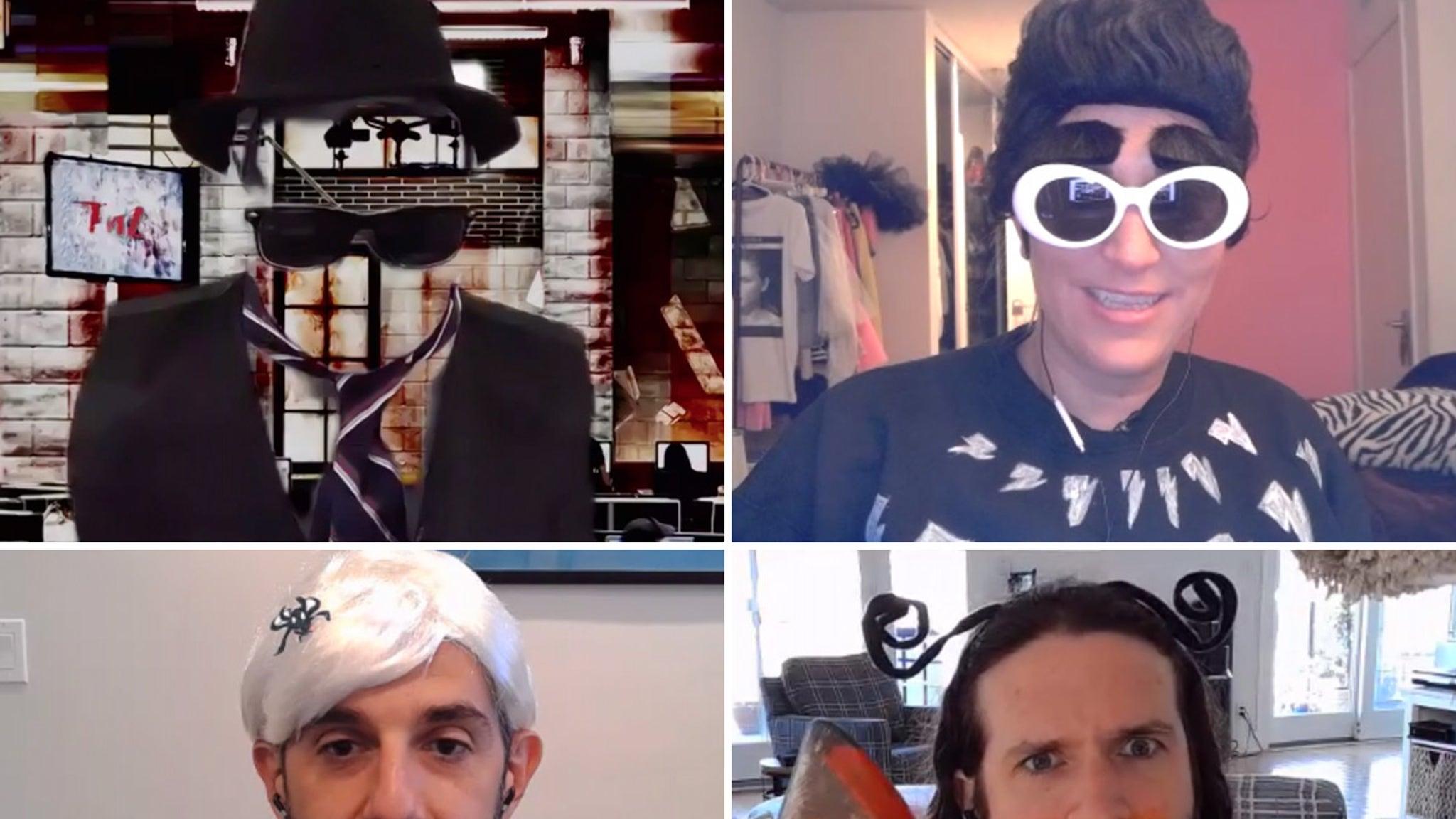TMZ's Halloween 2020 Pop Culture, Politics and Music Socially Distanced Fun!!!