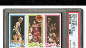 Rare Magic & Larry Bird Card Hits Auction Block, Expected To Fetch $500K