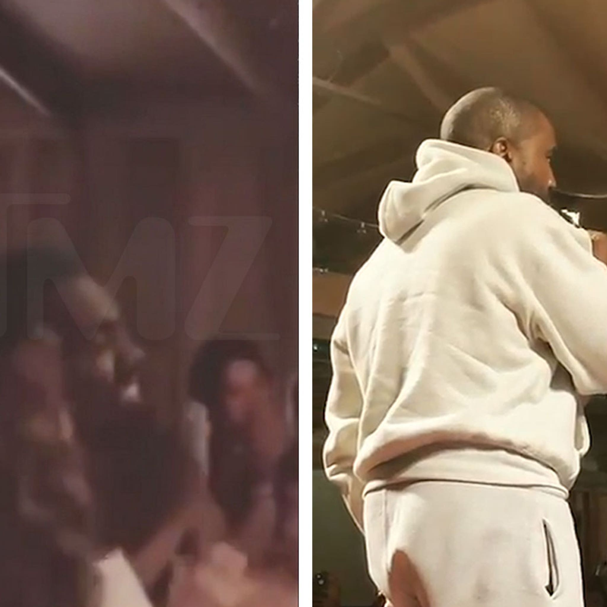 Kanye West Supports Family Band Infinity Song at Free Show in Indiana